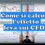 Come si calcola l'effetto leva sui CFD 150x150